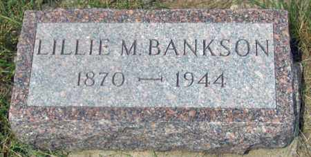 FULLER BANKSON, LILLIE MAE - Dundy County, Nebraska | LILLIE MAE FULLER BANKSON - Nebraska Gravestone Photos