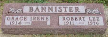LEWIS BANNISTER, GRACE IRENE - Dundy County, Nebraska | GRACE IRENE LEWIS BANNISTER - Nebraska Gravestone Photos