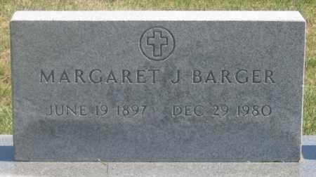 BARGER, MARGARET J. - Dundy County, Nebraska   MARGARET J. BARGER - Nebraska Gravestone Photos