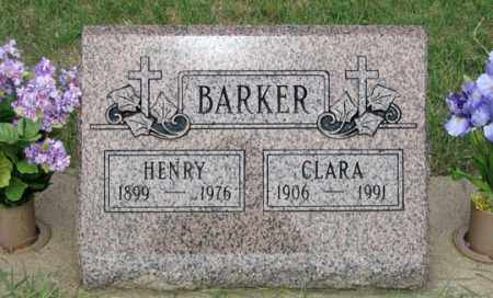 BARKER, HENRY - Dundy County, Nebraska | HENRY BARKER - Nebraska Gravestone Photos