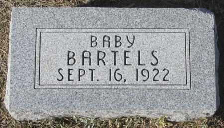 BARTELS, INFANT - Dundy County, Nebraska | INFANT BARTELS - Nebraska Gravestone Photos