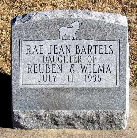 BARTELS, RAE JEAN - Dundy County, Nebraska | RAE JEAN BARTELS - Nebraska Gravestone Photos