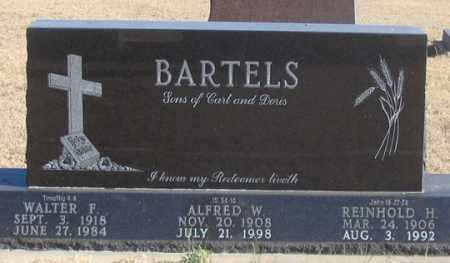 BARTELS, ALFRED W. - Dundy County, Nebraska | ALFRED W. BARTELS - Nebraska Gravestone Photos