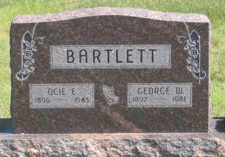 MCCLURE BARTLETT, OCIE E. - Dundy County, Nebraska | OCIE E. MCCLURE BARTLETT - Nebraska Gravestone Photos