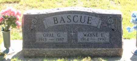 BASCUE, OPAL G. - Dundy County, Nebraska | OPAL G. BASCUE - Nebraska Gravestone Photos