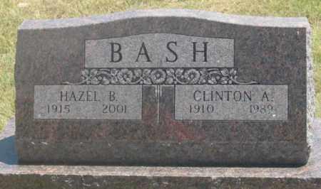 BASH, CLINTON A. - Dundy County, Nebraska | CLINTON A. BASH - Nebraska Gravestone Photos