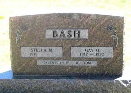 BASH, STELLA M. - Dundy County, Nebraska | STELLA M. BASH - Nebraska Gravestone Photos