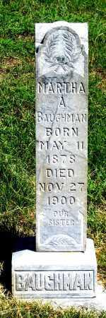 BAUGHMAN, MARTHA A. - Dundy County, Nebraska   MARTHA A. BAUGHMAN - Nebraska Gravestone Photos