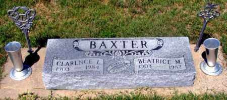 BAXTER, BEATRICE M. - Dundy County, Nebraska | BEATRICE M. BAXTER - Nebraska Gravestone Photos