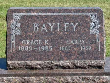 """BAYLEY, T. HENRY """"HARRY"""" - Dundy County, Nebraska   T. HENRY """"HARRY"""" BAYLEY - Nebraska Gravestone Photos"""