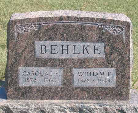 BEHLKE, WILLIAN F., II - Dundy County, Nebraska | WILLIAN F., II BEHLKE - Nebraska Gravestone Photos