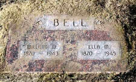 BELL, WILLIAM W. - Dundy County, Nebraska | WILLIAM W. BELL - Nebraska Gravestone Photos