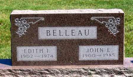 BELLEAU, JOHN E. - Dundy County, Nebraska   JOHN E. BELLEAU - Nebraska Gravestone Photos