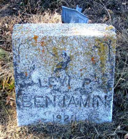 BENJAMIN, LEVI - Dundy County, Nebraska | LEVI BENJAMIN - Nebraska Gravestone Photos