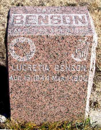 BENSEN, DAVID - Dundy County, Nebraska | DAVID BENSEN - Nebraska Gravestone Photos