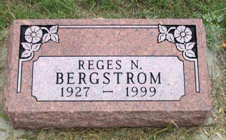 BERGSTROM, REGES N. - Dundy County, Nebraska | REGES N. BERGSTROM - Nebraska Gravestone Photos