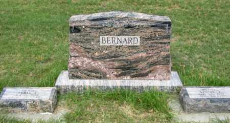 BERNARD FAMILY, HEADSTONE - Dundy County, Nebraska | HEADSTONE BERNARD FAMILY - Nebraska Gravestone Photos