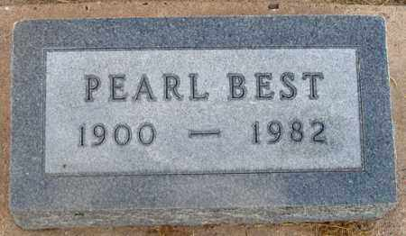 POSLEY BEST, PEARL - Dundy County, Nebraska   PEARL POSLEY BEST - Nebraska Gravestone Photos