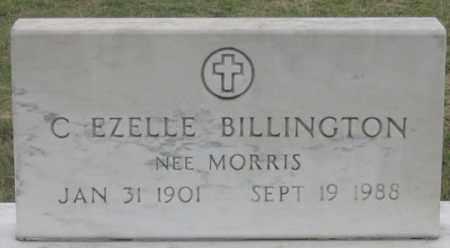 MORRIS BILLINGTON, C. EZELLE - Dundy County, Nebraska | C. EZELLE MORRIS BILLINGTON - Nebraska Gravestone Photos