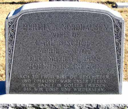 BISCHOFF, BERTHA A. - Dundy County, Nebraska | BERTHA A. BISCHOFF - Nebraska Gravestone Photos