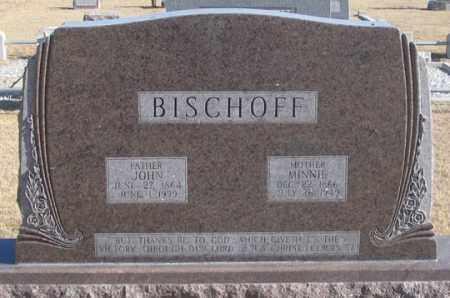 BISCHOFF, MINNIE - Dundy County, Nebraska | MINNIE BISCHOFF - Nebraska Gravestone Photos