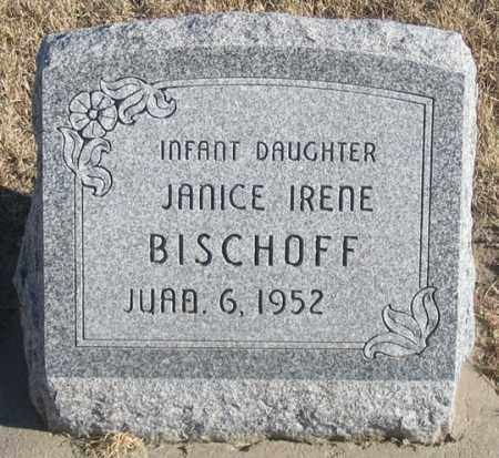 BISCHOFF, JANICE IRENE - Dundy County, Nebraska | JANICE IRENE BISCHOFF - Nebraska Gravestone Photos