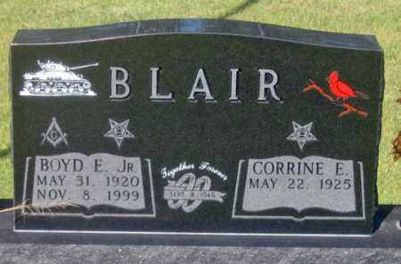 BLAIR, CORRINE E. - Dundy County, Nebraska | CORRINE E. BLAIR - Nebraska Gravestone Photos