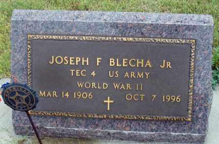 BLECHA, JOSEPH F. JR. - Dundy County, Nebraska | JOSEPH F. JR. BLECHA - Nebraska Gravestone Photos