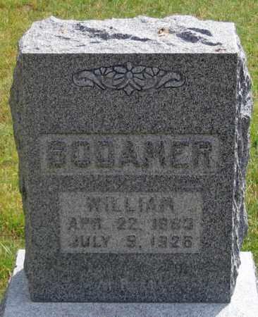 BODAMER, WILLIAM - Dundy County, Nebraska   WILLIAM BODAMER - Nebraska Gravestone Photos