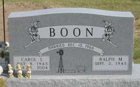 BOON, CAROL I. - Dundy County, Nebraska | CAROL I. BOON - Nebraska Gravestone Photos