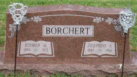 BORCHERT, HERMAN W. - Dundy County, Nebraska | HERMAN W. BORCHERT - Nebraska Gravestone Photos