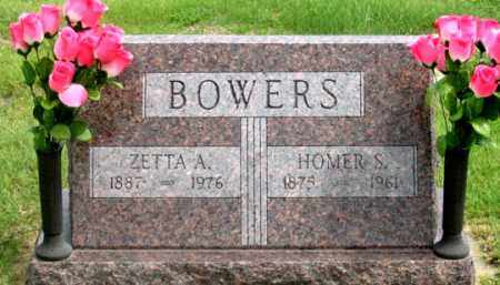 BOWERS, HOMER S. - Dundy County, Nebraska | HOMER S. BOWERS - Nebraska Gravestone Photos