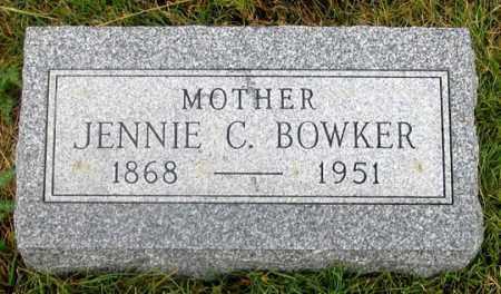 PRINGLE BOWKER, JENNIE C. - Dundy County, Nebraska   JENNIE C. PRINGLE BOWKER - Nebraska Gravestone Photos