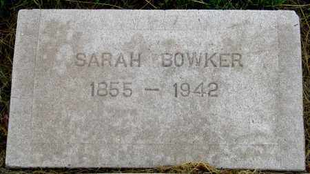 MORGAN BOWKER, SARAH LOUISE - Dundy County, Nebraska   SARAH LOUISE MORGAN BOWKER - Nebraska Gravestone Photos