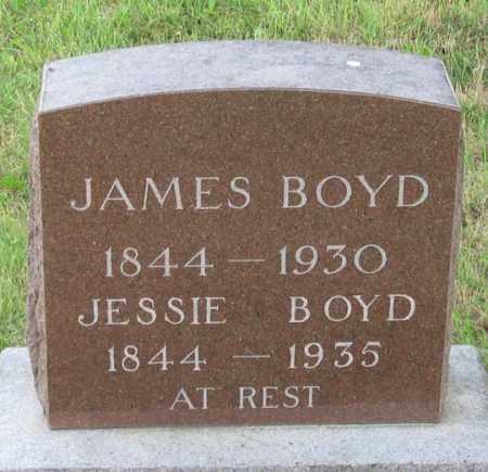 BOYD, JAMES - Dundy County, Nebraska | JAMES BOYD - Nebraska Gravestone Photos