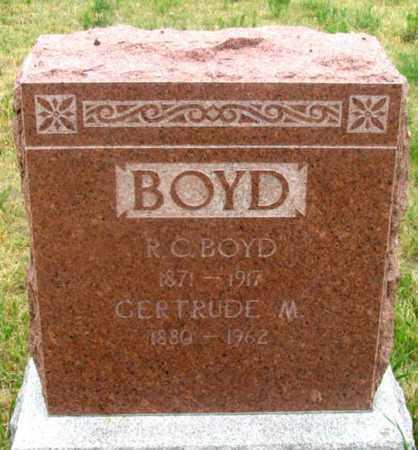 BOYD, GERTRUDE MAY - Dundy County, Nebraska | GERTRUDE MAY BOYD - Nebraska Gravestone Photos
