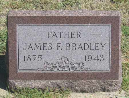 BRADLEY, JAMES F. - Dundy County, Nebraska | JAMES F. BRADLEY - Nebraska Gravestone Photos
