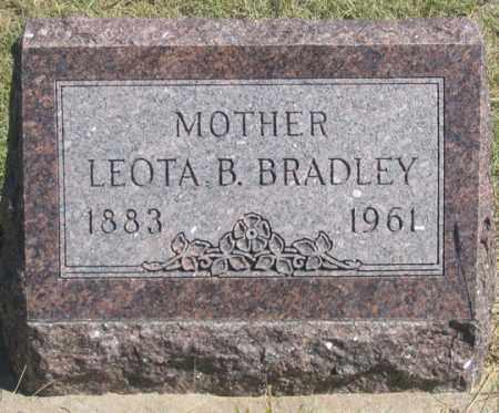 BRADLEY, LEOTA B. - Dundy County, Nebraska   LEOTA B. BRADLEY - Nebraska Gravestone Photos