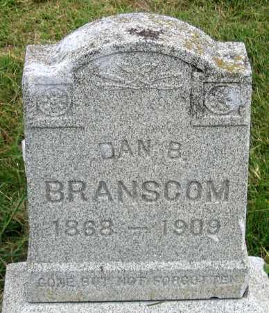 BRANSCOM, DAN B. - Dundy County, Nebraska | DAN B. BRANSCOM - Nebraska Gravestone Photos
