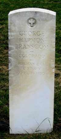 BRANSCOM, GEORGE E. - Dundy County, Nebraska   GEORGE E. BRANSCOM - Nebraska Gravestone Photos