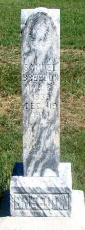 BREEDON, SAMUEL - Dundy County, Nebraska   SAMUEL BREEDON - Nebraska Gravestone Photos