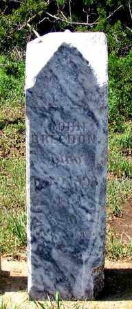 BREEDON, JOHN - Dundy County, Nebraska | JOHN BREEDON - Nebraska Gravestone Photos