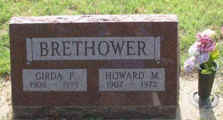 WOOLARD BRETHOWER, GIRDA F. - Dundy County, Nebraska | GIRDA F. WOOLARD BRETHOWER - Nebraska Gravestone Photos