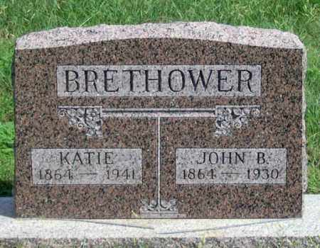 JELSMA BRETHOWER, KATIE - Dundy County, Nebraska | KATIE JELSMA BRETHOWER - Nebraska Gravestone Photos