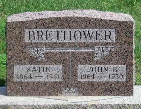 BRETHOWER, KATIE - Dundy County, Nebraska | KATIE BRETHOWER - Nebraska Gravestone Photos