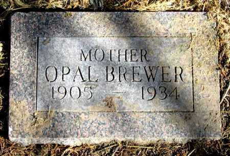 BREWER, OPAL - Dundy County, Nebraska | OPAL BREWER - Nebraska Gravestone Photos