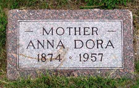 BRICKER, ANNA DORA - Dundy County, Nebraska | ANNA DORA BRICKER - Nebraska Gravestone Photos