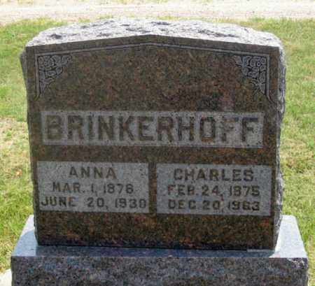 BRINKERHOFF, ANNA - Dundy County, Nebraska | ANNA BRINKERHOFF - Nebraska Gravestone Photos