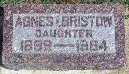 BRISTOW, AGNES I. - Dundy County, Nebraska | AGNES I. BRISTOW - Nebraska Gravestone Photos