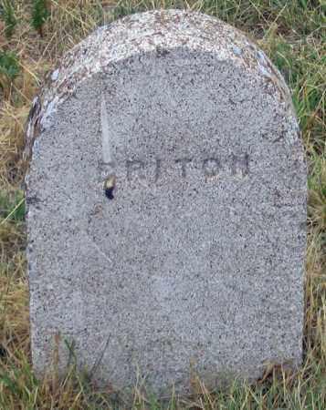 BRITON, TOM ? - Dundy County, Nebraska | TOM ? BRITON - Nebraska Gravestone Photos